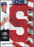 2008 Upper Deck SP Authentic USA National Team By the Letter Autographs #KR Kevin Rhoderick /172