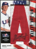 2008 Upper Deck SP Authentic USA National Team By the Letter Autographs #ML Mike Leake /180