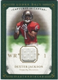 2008 Upper Deck UD Masterpieces Captured on Canvas Jerseys #CC2 Dexter Jackson