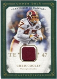 2008 Upper Deck UD Masterpieces Captured on Canvas Jerseys #CC9 Chris Cooley