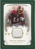 2008 Upper Deck UD Masterpieces Captured on Canvas Jerseys #CC15 Devin Thomas