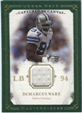 2008 Upper Deck UD Masterpieces Captured on Canvas Jerseys #CC16 DeMarcus Ware
