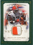 2008 Upper Deck UD Masterpieces Captured on Canvas Jerseys #CC21 Braylon Edwards