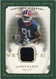 2008 Upper Deck UD Masterpieces Captured on Canvas Jerseys #CC27 James Hardy