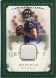 2008 Upper Deck UD Masterpieces Captured on Canvas Jerseys #CC35 Joe Flacco