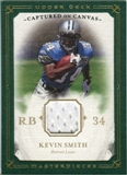 2008 Upper Deck UD Masterpieces Captured on Canvas Jerseys #CC42 Kevin Smith