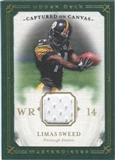 2008 Upper Deck UD Masterpieces Captured on Canvas Jerseys #CC45 Limas Sweed