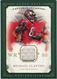 2008 Upper Deck UD Masterpieces Captured on Canvas Jerseys #CC52 Michael Clayton
