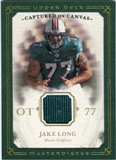 2008 Upper Deck UD Masterpieces Captured on Canvas Jerseys #CC53 Jake Long