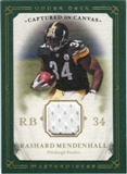 2008 Upper Deck UD Masterpieces Captured on Canvas Jerseys #CC55 Rashard Mendenhall