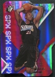 2008/09 Upper Deck SPx Radiance #22 Thaddeus Young /25
