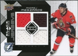2008/09 Upper Deck Black Diamond Jerseys Quad #BDJAM Andrej Meszaros