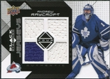 2008/09 Upper Deck Black Diamond Jerseys Quad #BDJAR Andrew Raycroft