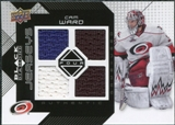 2008/09 Upper Deck Black Diamond Jerseys Quad #BDJCW Cam Ward