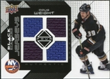 2008/09 Upper Deck Black Diamond Jerseys Quad #BDJDW Doug Weight