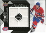 2008/09 Upper Deck Black Diamond Jerseys Quad #BDJGL Guillaume Latendresse