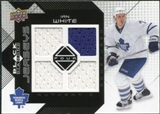 2008/09 Upper Deck Black Diamond Jerseys Quad #BDJIW Ian White
