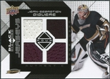 2008/09 Upper Deck Black Diamond Jerseys Quad #BDJJG Jean-Sebastien Giguere