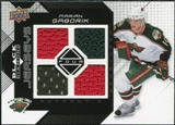 2008/09 Upper Deck Black Diamond Jerseys Quad #BDJMG Marian Gaborik