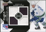 2008/09 Upper Deck Black Diamond Jerseys Quad #BDJMN Markus Naslund
