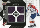 2008/09 Upper Deck Black Diamond Jerseys Quad #BDJOJ Olli Jokinen
