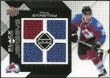 2008/09 Upper Deck Black Diamond Jerseys Quad #BDJPS Paul Stastny