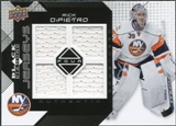 2008/09 Upper Deck Black Diamond Jerseys Quad #BDJRD Rick DiPietro