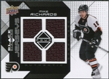 2008/09 Upper Deck Black Diamond Jerseys Quad #BDJRI Mike Richards