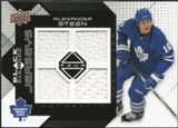 2008/09 Upper Deck Black Diamond Jerseys Quad #BDJST Alexander Steen