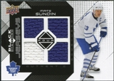 2008/09 Upper Deck Black Diamond Jerseys Quad #BDJSU Mats Sundin