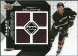 2008/09 Upper Deck Black Diamond Jerseys Quad #BDJTS Teemu Selanne