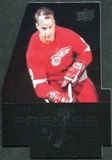 2008/09 Upper Deck Black Diamond Premier Die-Cut #PDC57 Gordie Howe
