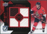 2008/09 Upper Deck Black Diamond Jerseys Quad Ruby #BDJAM Andrej Meszaros /100