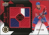 2008/09 Upper Deck Black Diamond Jerseys Quad Ruby #BDJMR Michael Ryder /100