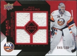 2008/09 Upper Deck Black Diamond Jerseys Quad Ruby #BDJRD Rick DiPietro /100