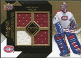 2008/09 Upper Deck Black Diamond Jerseys Quad Gold #BDJPR Patrick Roy /25