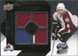 2008/09 Upper Deck Black Diamond Jerseys Quad Onyx #BDJJM John-Michael Liles /10
