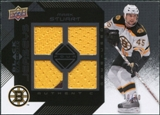 2008/09 Upper Deck Black Diamond Jerseys Quad Onyx #BDJMA Mark Stuart /10