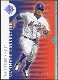 2008 Upper Deck Ultimate Collection #2 David Wright /350