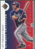 2008 Upper Deck Ultimate Collection #6 Jeff Francoeur /350