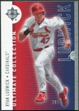 2008 Upper Deck Ultimate Collection #18 Ryan Ludwick /350