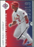 2008 Upper Deck Ultimate Collection #20 Albert Pujols /350