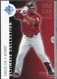2008 Upper Deck Ultimate Collection #25 Carlos Lee /350