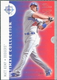 2008 Upper Deck Ultimate Collection #47 Matt Kemp /350