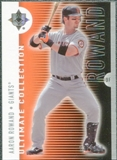 2008 Upper Deck Ultimate Collection #49 Aaron Rowand /350