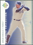 2008 Upper Deck Ultimate Collection #51 Adrian Gonzalez /350