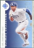 2008 Upper Deck Ultimate Collection #73 Carl Crawford /350