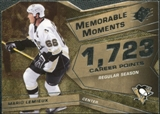2008/09 Upper Deck SPx Memorable Moments #MMLE Mario Lemieux
