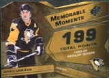 2008/09 Upper Deck SPx Memorable Moments #MMML Mario Lemieux