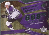 2008/09 Upper Deck SPx Memorable Moments #MMRO Luc Robitaille